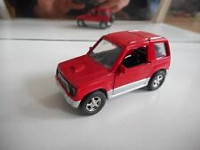 Mtech Mitsubishi Pajero in Red on 1:43