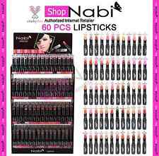 60pcs Lipstick Nabi Round Lipsticks (60 different colors)_cruelty Free