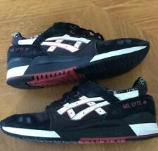 Men's Asics Sneakers Gel Lyte III 3 Bandana Black Size 12 Worn