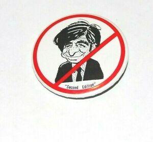 1988 ANTI MICHAEL DUKAKIS campaign pin pinback button political presidential