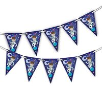 Cute Astronaut - Bunting Banner 15 flags Cosmos Space Travel by Party Decor