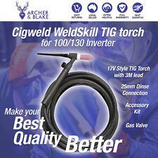 CIGWELD Weldskill TIG Torch for 130 Inverter. #w7003006