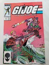 G.I. JOE A REAL AMERICAN HERO #60 (1987) MARVEL TODD McFARLANE ART! 1ST CHUCKLES
