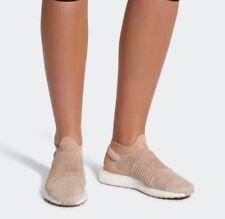 Women´s Adidas Originals Ultra Boost Laceless Ash Pearl Sz 8.5 CQ0010 running