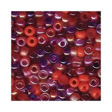 Miyuki Seed Beads 8/0 Melonberry Mixture 8-Mix10 22g Size 8 Glass Round Mix