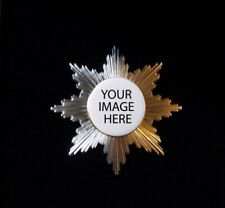 Custom Bespoke Royal Order Knight Kingdom Empire Star Badge Medal Pin Medieval X