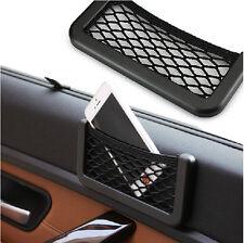 Storage Tuck Net String Bag Phone Holder Ticket Pocket Organizer For Audi Golf