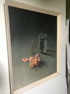 """Vintage Tretchikoff  Framed Print """"The Weeping Rose"""""""