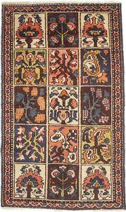 3X5 Semi Antique Garden Floral Style Oriental Rug Farmhouse Decor Carpet 2'8X4'6