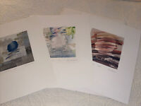 Full Set Original OPUS ONE Lithographs by Susan Pate Numbered Signed