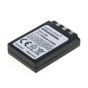Digibuddy Batteria Per Olympus LI-10B/LI-12B Ioni di Litio 3,7V 1100mAh