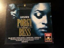 CD TRIPLE ALBUM - EMI - PORGY AND BESS - WILLARD WHITE / CYNTHIA HAYMON