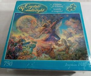 Glitters & Glows Crystals & Candlelight 750 Piece Puzzle New In Sealed Box