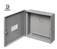 Arlington Industries EB1212BP-1  Electronic Equipment Enclosure Box with Back pl
