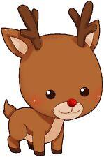 30 Custom Little Reindeer Personalized Address Labels