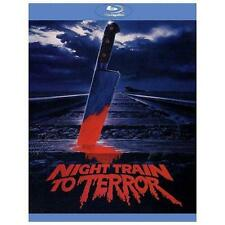 Night Train to Terror [Blu-ray/DVD Combo], Good DVD, John Phillip Law, Merideth