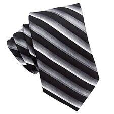 Burma Bibas Luxury Seven 7 Fold Necktie Tie 100 Silk Paisley or Striped Black Stripe