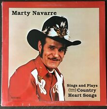 MARTY NAVARRE Sings And Plays (Penna. Dutch) Country Heart Songs PRIVATE Sealed