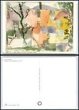 Vintage ART Postcard - La Casa con il pannello blu by Paul klee B4