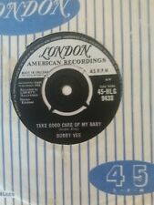 Bobby Vee - Take Good Care Of My Baby (London HLG 9438) VG