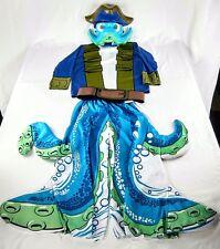 SkyLanders Wash Buckler Halloween Costume Shirt Pants Belt Mask Complete Size M
