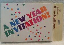 Pack Hallmark A New Year Invitation! Cards 8 Vintage