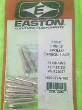 "petits Groove Easton /""G/"" points .088 1 douzaine Vert"