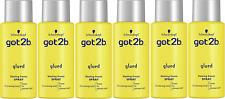 6x Got2b Glued Blasting Freeze Spray 100ml Travel size