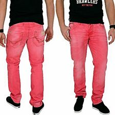 Cipo & Baxx Regular Fit Jeans Rosso Nuovo
