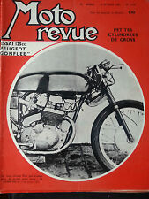 moto revue n1578 10/2/1962 essai peugeot 125 gonflee 350 jawa competition
