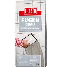 Lugato Fugengrau 1 kg zementgrau wasserbeständig frostbeständig ausfugen