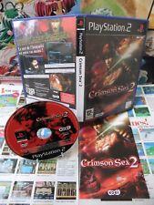 Playstation 2 PS2:Crimson Sea 2 [TOP KOEI & 1ERE EDITION RARE] Fr