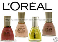 L'OREAL Nail Polish/Color JET SET SHINE Discontinued Enamel *YOU CHOOSE* New!
