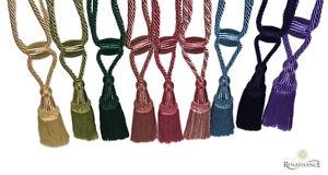 Curtain Holder Tie Backs Tassel Rope HoldBacks Home Decor Tieback