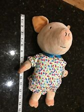 IF YOU GIVE A PIG A PARTY ZOOBIES SOFT CLOTH BOOK PLUSH STUFFED ANIMAL TOY LOVEY
