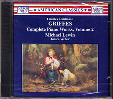 Charles Tomlinson GRIFFES Piano Music MICHAEL LEWIN CD Symphonische Phantasie