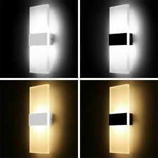 Modern Led 5W Wall Light Indoor Outdoor Sconce Lighting Lamp Fixture Ac 85-265V