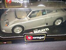 Bburago Diamonds Bugatti EB 110 silber  Bj.1991 Code 3045 Mit OVP 1:18