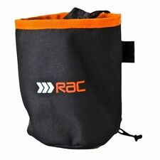 RAC Dog Training Treat Holder Bag with Belt Clip Black and Orange