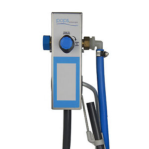 Single Mop Bucket proportioner chemical dispenser, Model# 8167SS