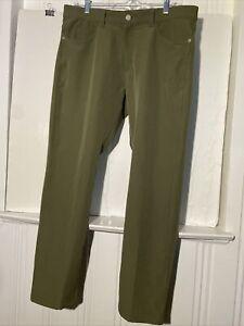 Nike Golf Fairway Jean Pants Slim - Women Size M (32x30)  Army Green