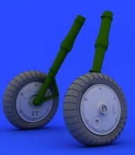 Eduard Brassin messermitt me BF 109g-6 wheels roues aplatis 1:32 Kit revell