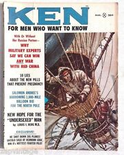 Vintage MARCH 1961 For Men Only (Ken) MAGAZINE Undersexted Man
