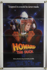HOWARD THE DUCK (1986) LEA THOMPSON ORIGINAL ONE SHEET MOVIE POSTER
