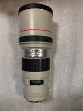 Canon EF 300mm F/4 L USM AF Lens Made In Japan Free Shipping