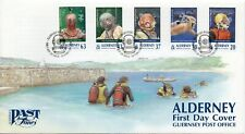 1998 Alderney Diving First Day Cover