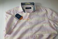 Tommy Bahama Camp Shirt Grecian Venetian Wild Aster T316544 New Medium M