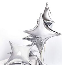 silver starburst Balloon , 2- 18�, Usa