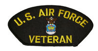USAF AIR FORCE VETERAN PATCH AIRMAN FOR LIFE PROUD MILITARY SERVICE