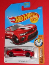 HOT WHEELS '16 CAMARO SS 129/250 (RED) NEW! FOR 2016 MUSCLE MANIA SHIPS FREE